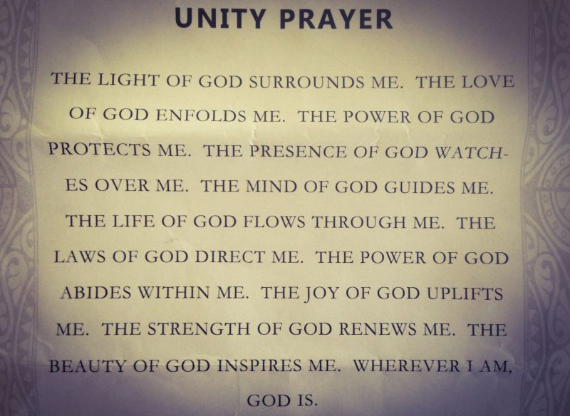 Excerpt from the program for Wednesday's inter-faith vigil at Our Lady of the Rosary Catholic Cathedral in San Bernardino