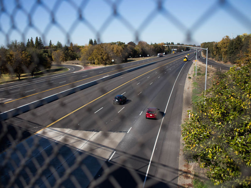 Interstate 5 separates the Pocket and Meadowview neighborhoods – two adjacent, but starkly different communities in Sacramento.