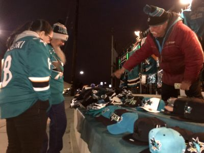 Licensed San Jose sports street vendors will not be able to sell Super Bowl swag in their usual spots.