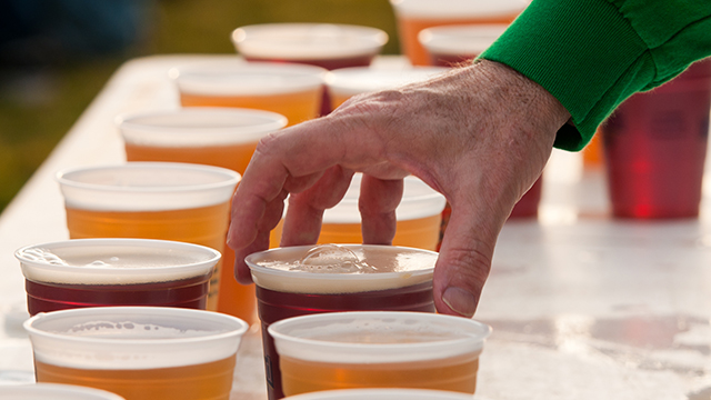 Beer tasting may be coming to a farmers market near you.