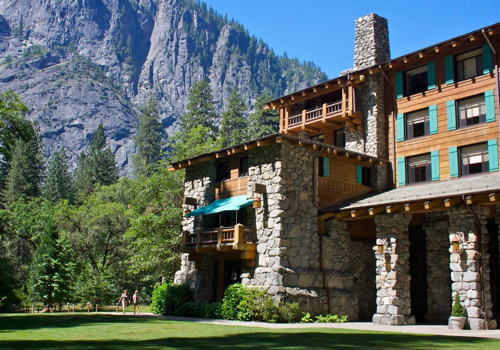 Yosemite's historic Ahwahnee Hotel, now to be called the Majestic Yosemite Hotel.