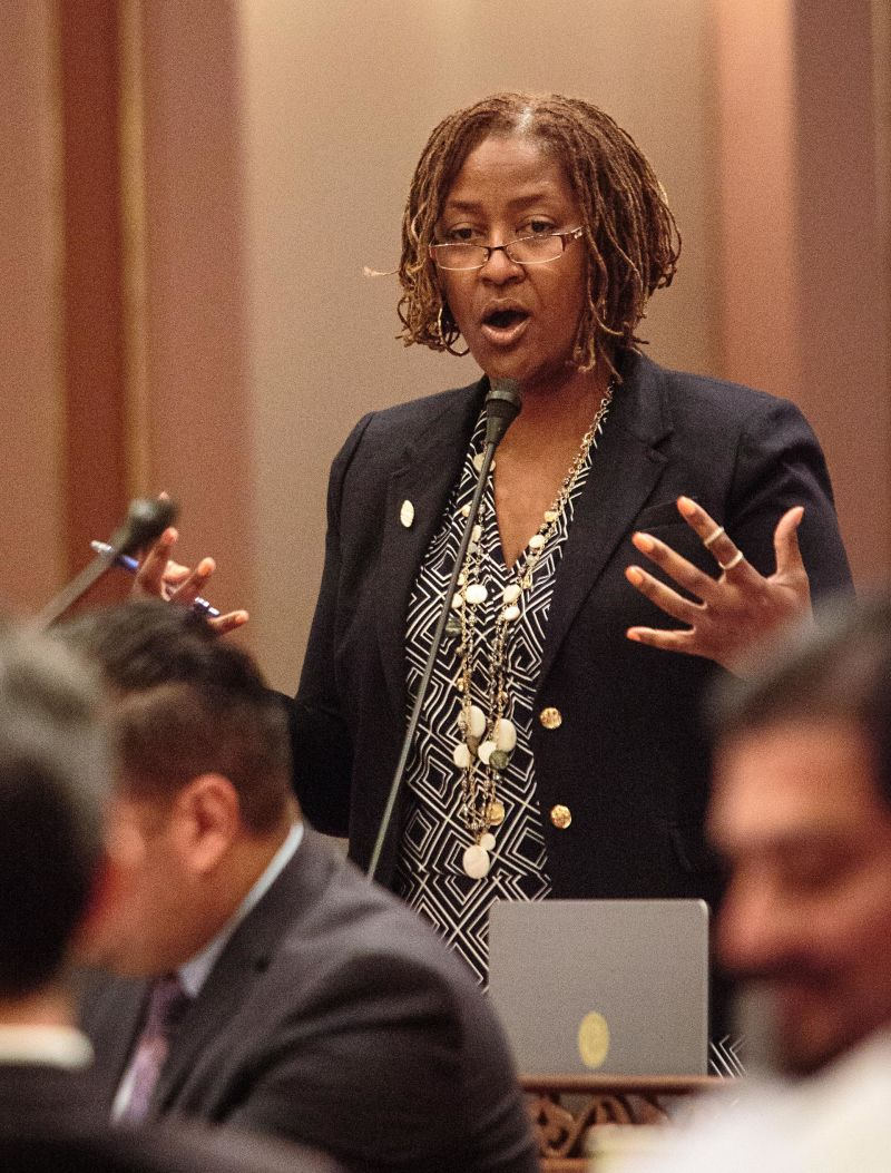 State Sen. Holly Mitchell (D-Los Angeles)