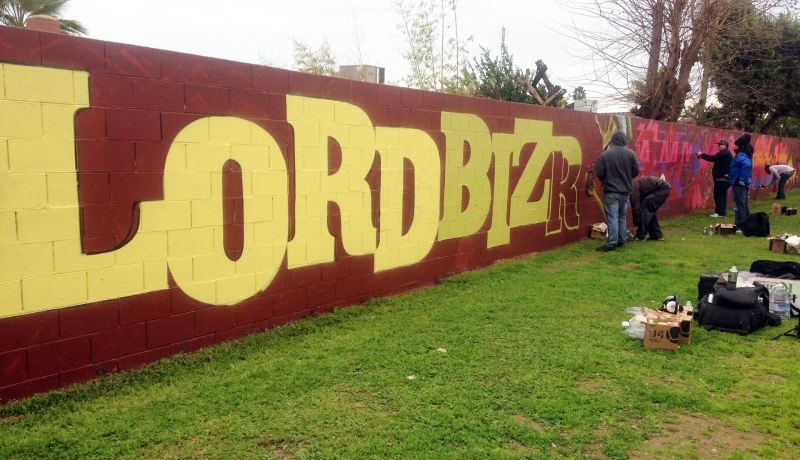 Wall in Fresno Park a Canvas for Graffiti Artists\' Tribute | The ...