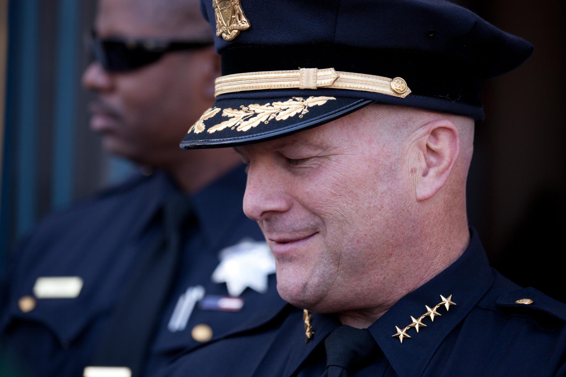 San Francisco Police Chief Greg Suhr.