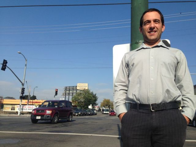 Brahm Ahmadi told KQED in 2015 that he was not be able to develop People's Community Market at his first-choice location near West Grand Avenue and Market Street in Oakland. The prices for land were too high.
