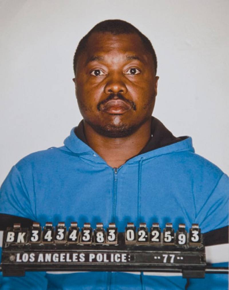Undated LAPD mugshot of Lonnie Franklin Jr.