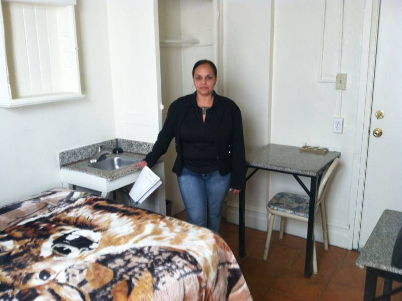 Loretta Olivencia runs the support services at The Henry Hotel