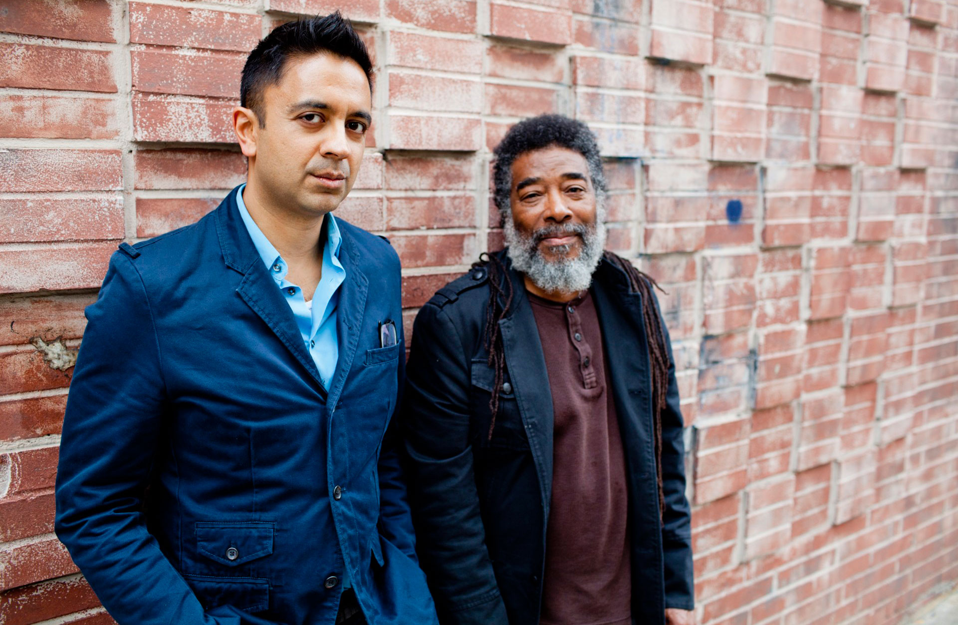 Vijay Iyer and Wadada Leo Smith.