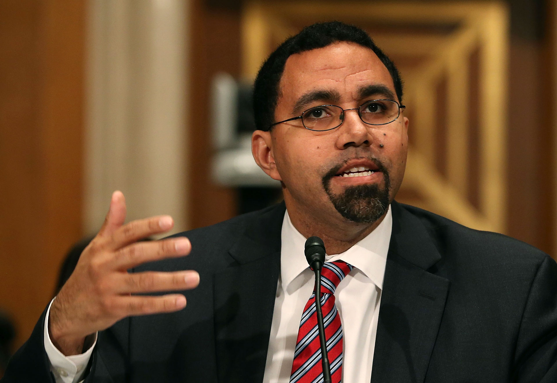"""""""Corinthian was more worried about profits than about students' lives,"""" said U.S. Education Secretary John King."""