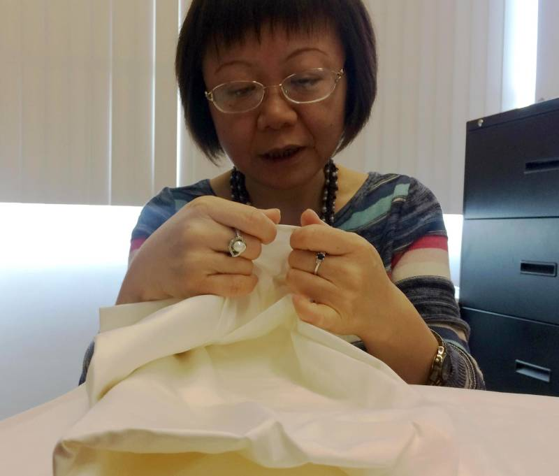 Prof. Lizhu Davis says DNA tagging technology could change the way supply chains are monitored in the textile industry.