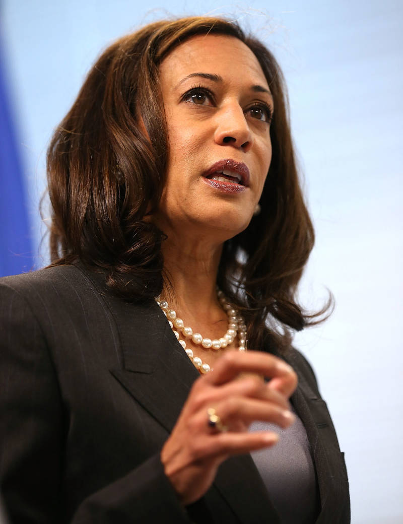Attorney General Kamala Harris.