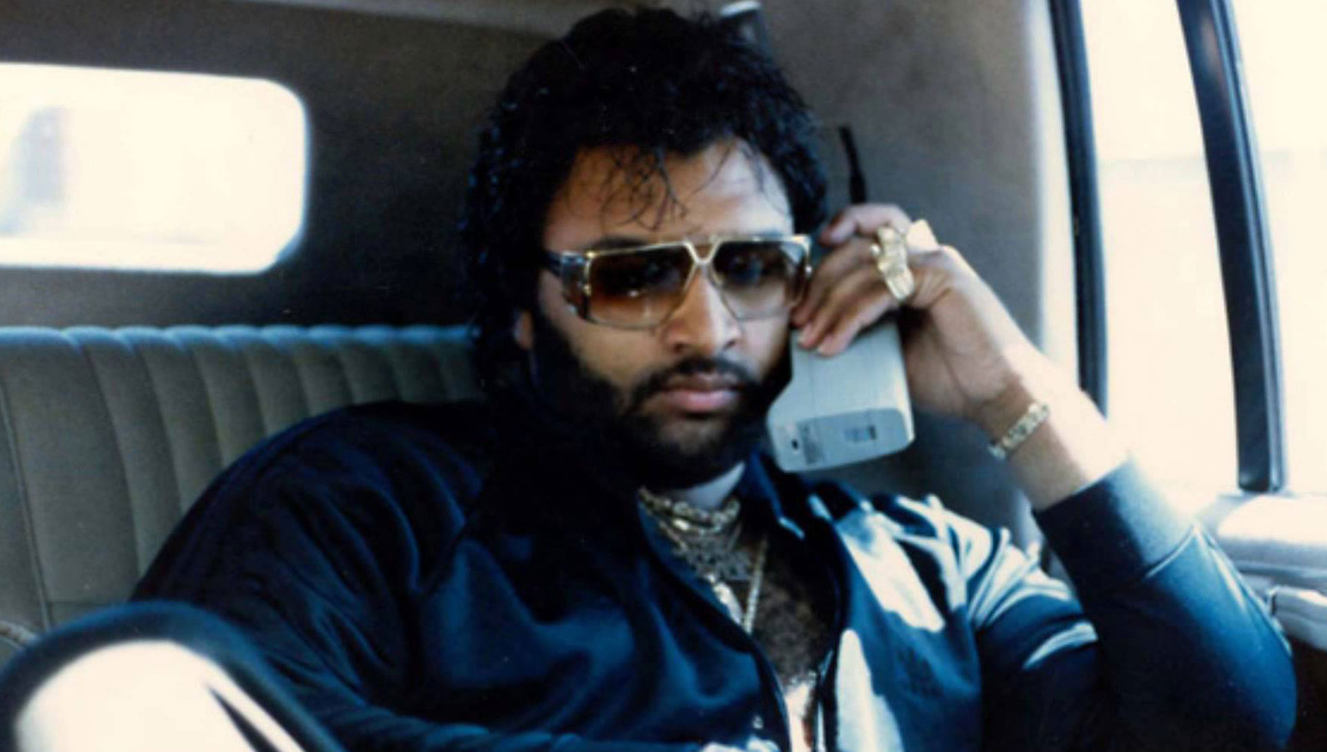 The Egyptian Lover, in the days of massive cellphones.