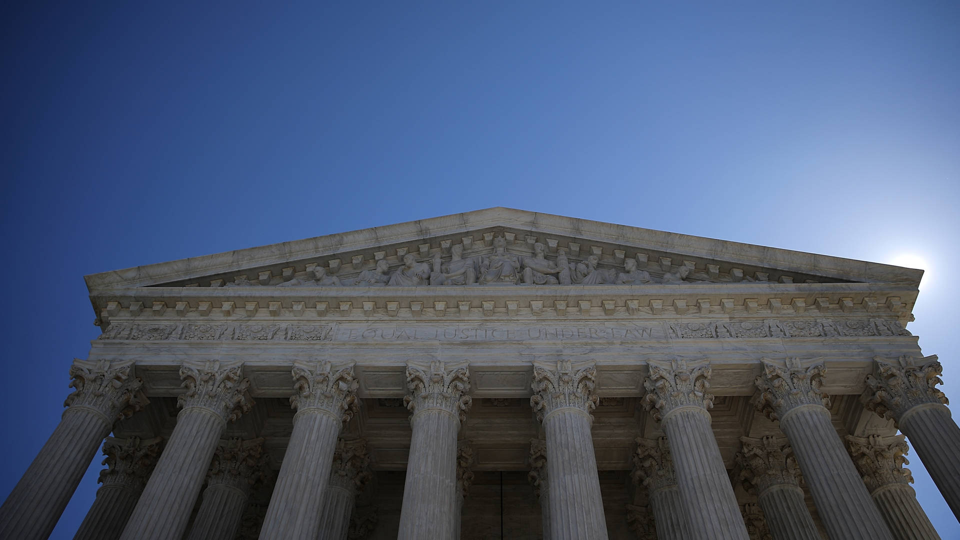 The U.S. Supreme Court ruled Monday that the total population as defined by the Census Bureau should be used when counting people for political purposes.