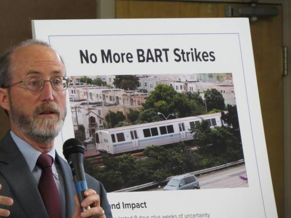 BART Critic Says Agency Needs to Do More to Win Bond Support