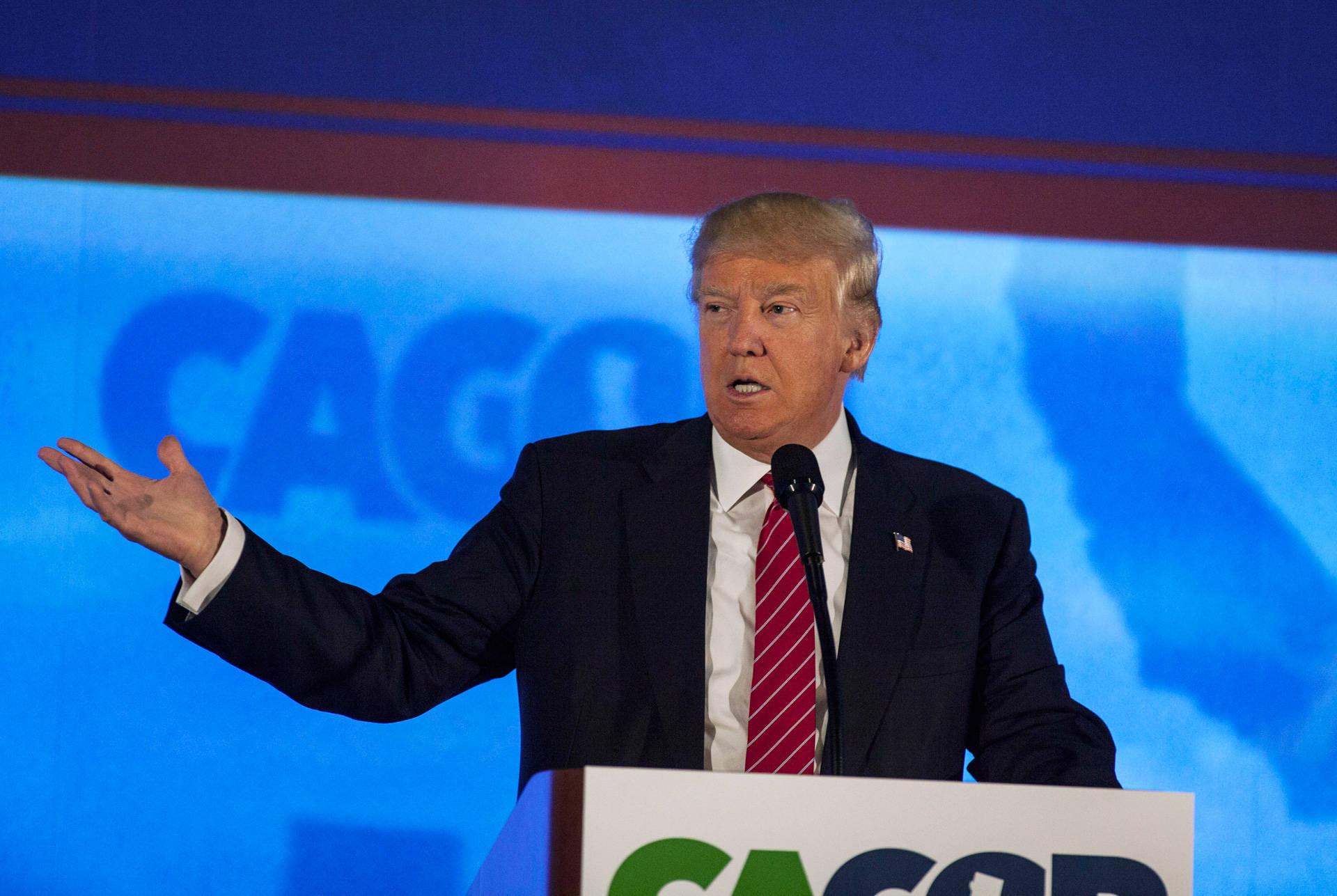 Trump Poses a Love-Hate Quandary for California Republicans