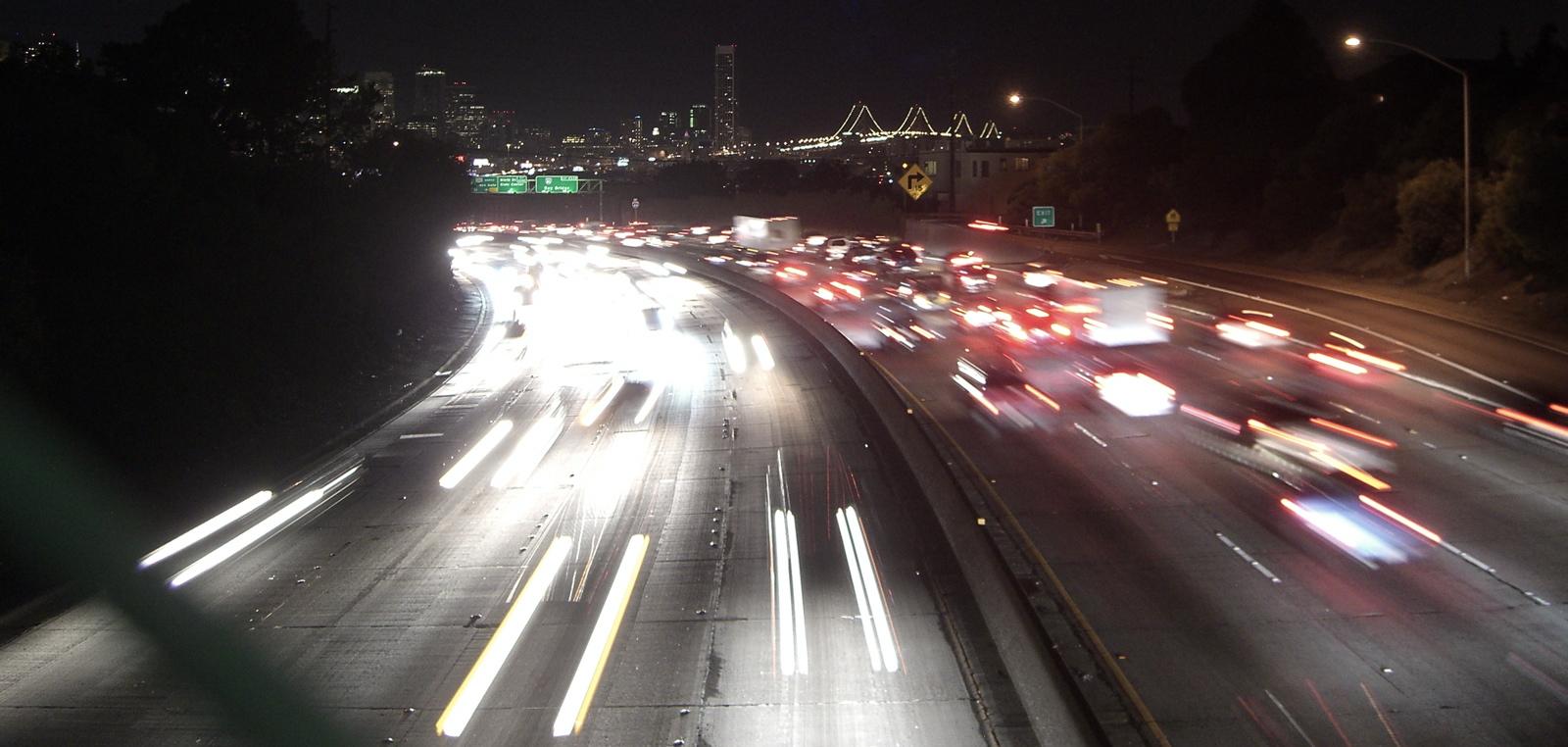 U.S. 101 near downtown San Francisco. Dan Brekke/KQED