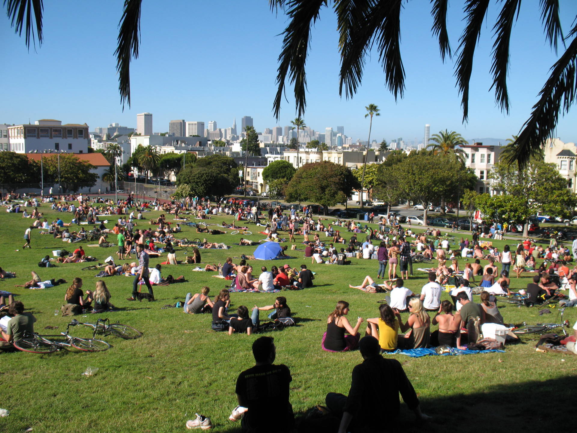 Contretemps Quieted: S.F. Ends Picnic Reservations for Dolores Park Lawns