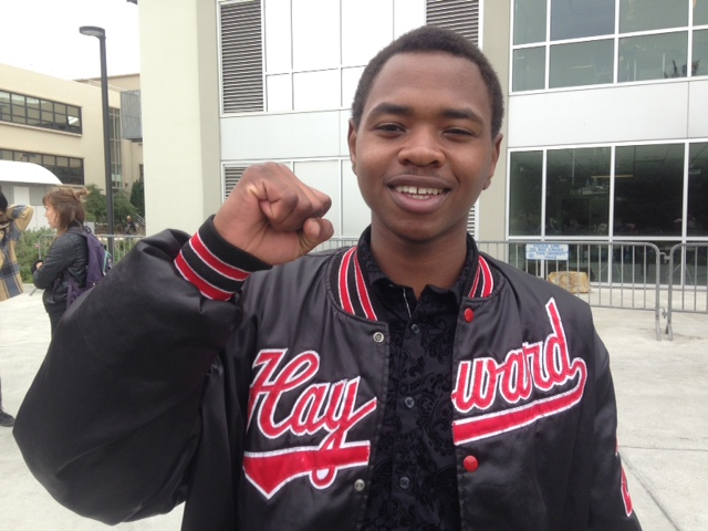Hassani Bell, 18, is the youngest of the four SF State students on hunger strike until the College of the Ethnic Studies receives $8 million in funding,
