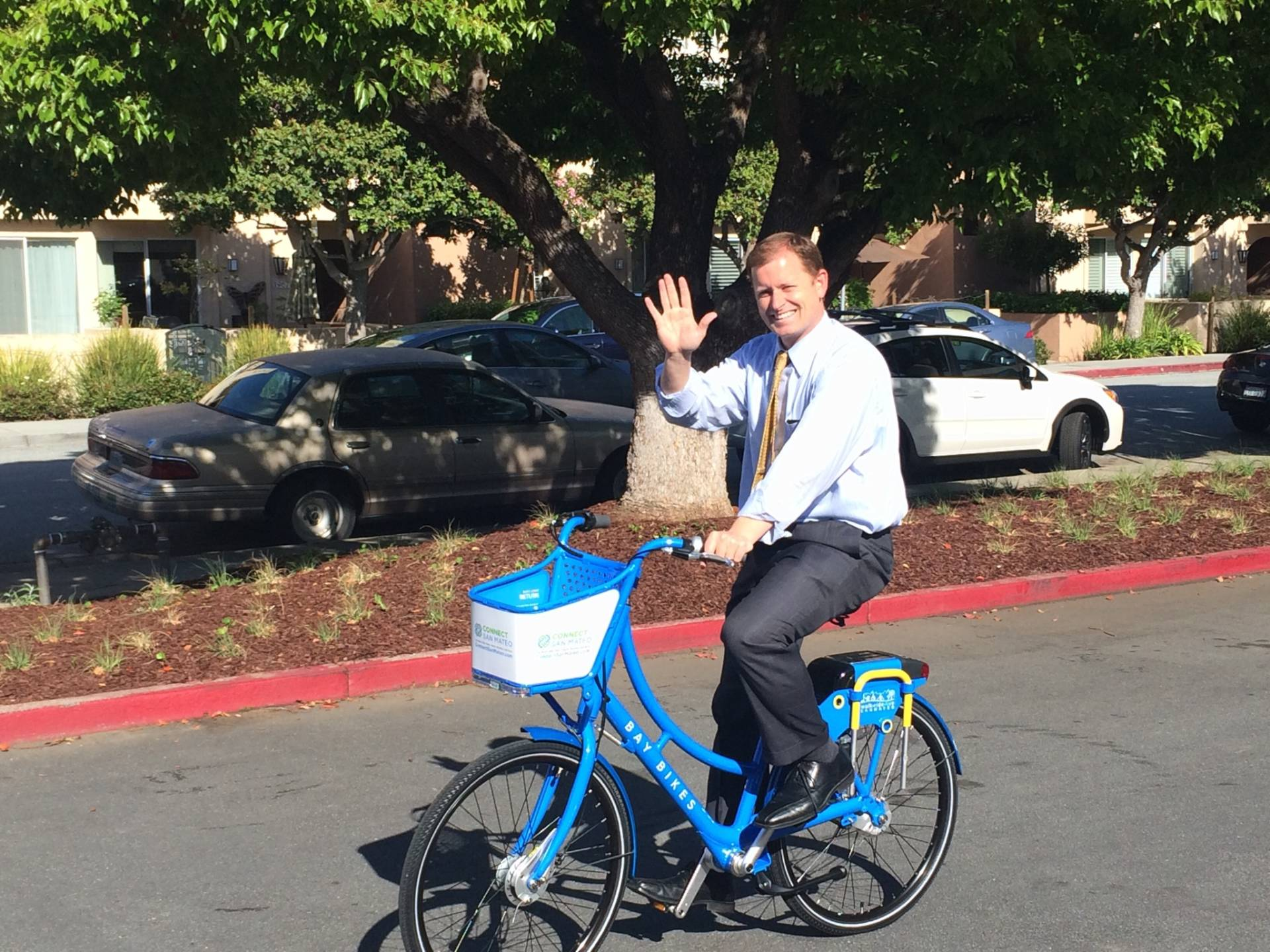 San Mateo Launches a Bike Share System on Bike to Work Day
