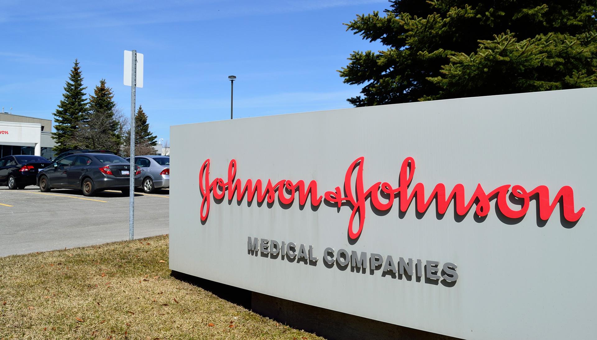 A Johnson & Johnson office.