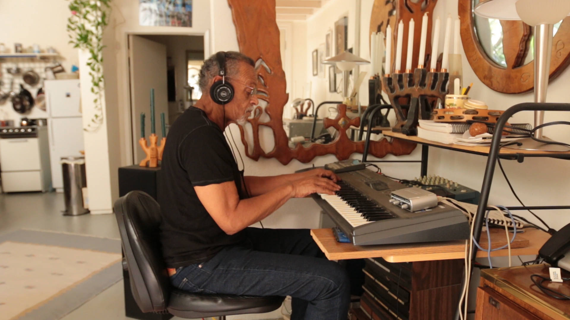 Tony Breaux has lived in his loft apartment since 2004.