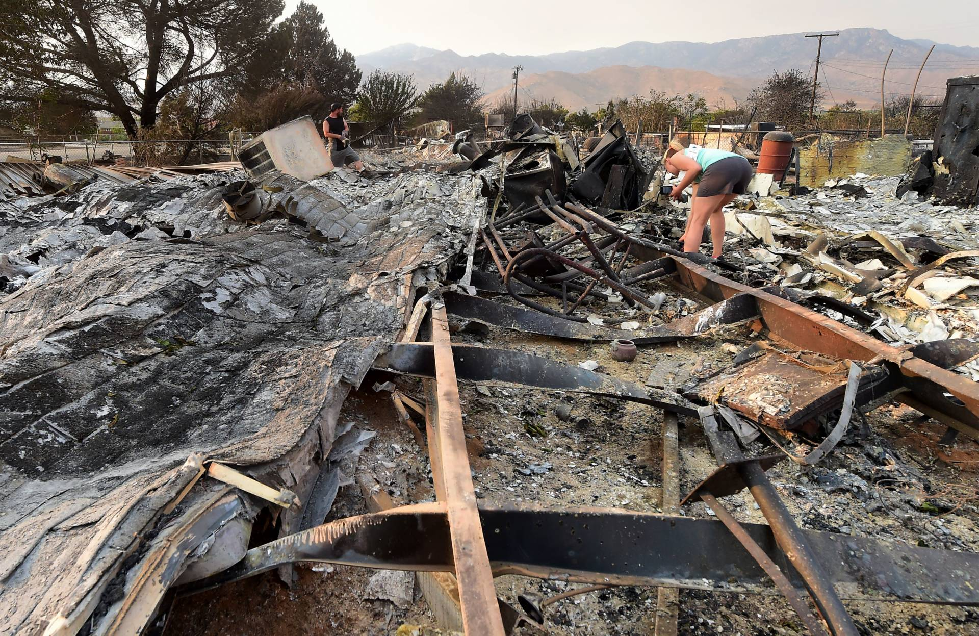 Homes in Ruins, Lake Isabella Fire Survivors Look to Future