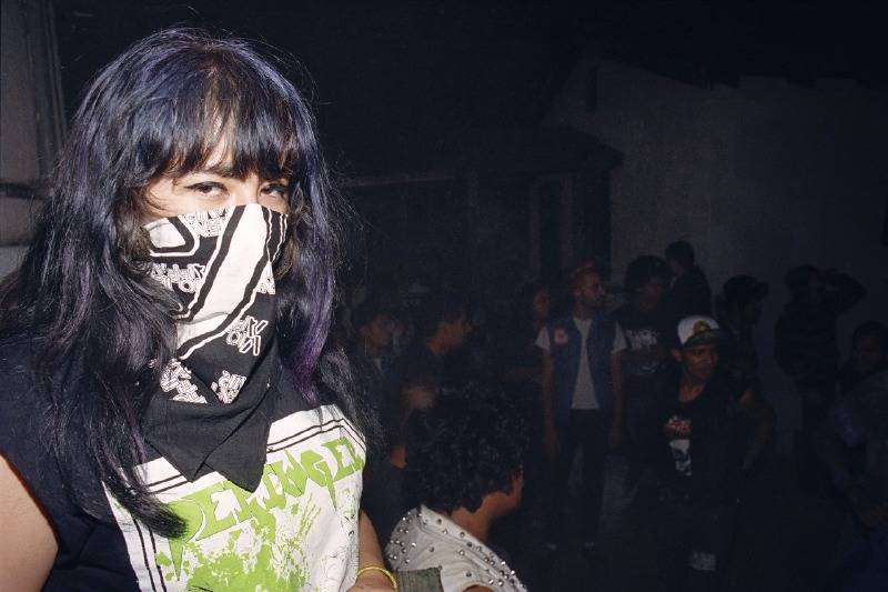 April, a teenage show promoter from Watts who is profiled in Los Punks.