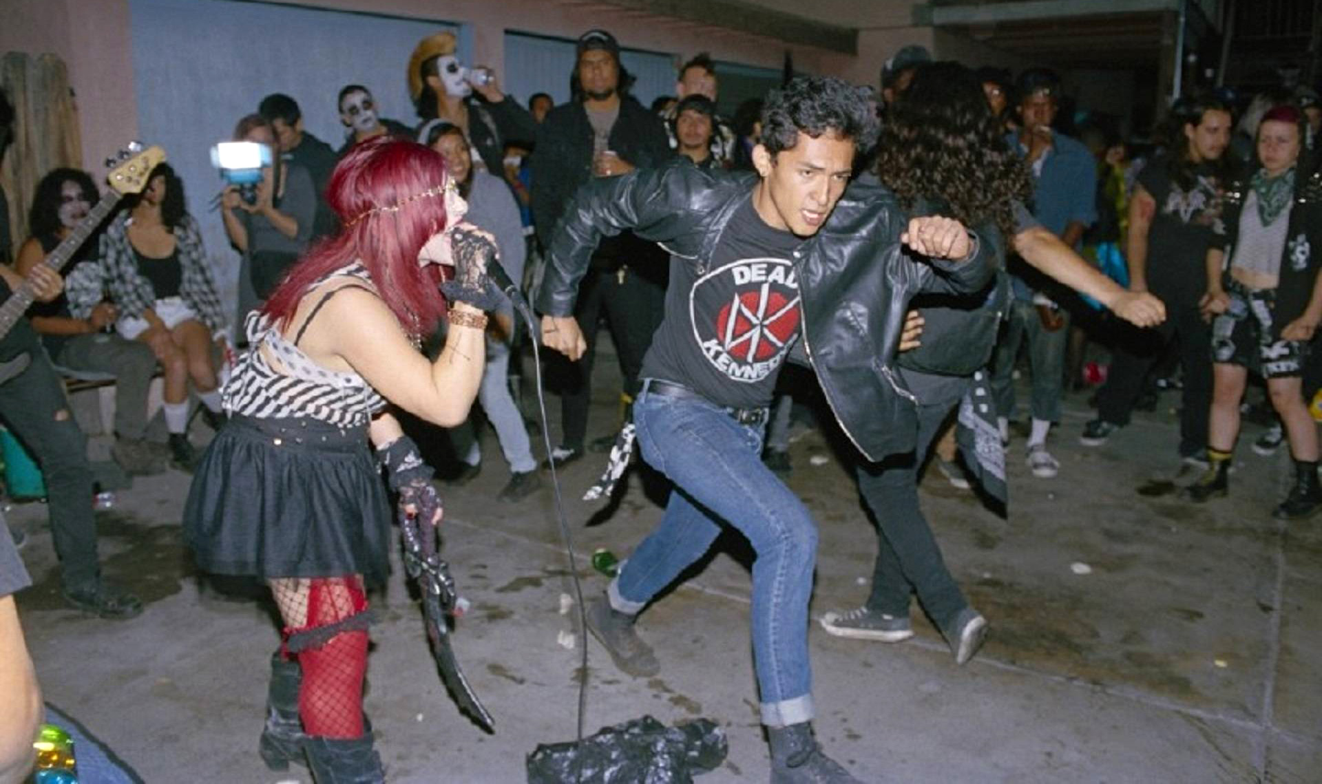 documentary reveals l a u0027s secretive backyard latino punk scene