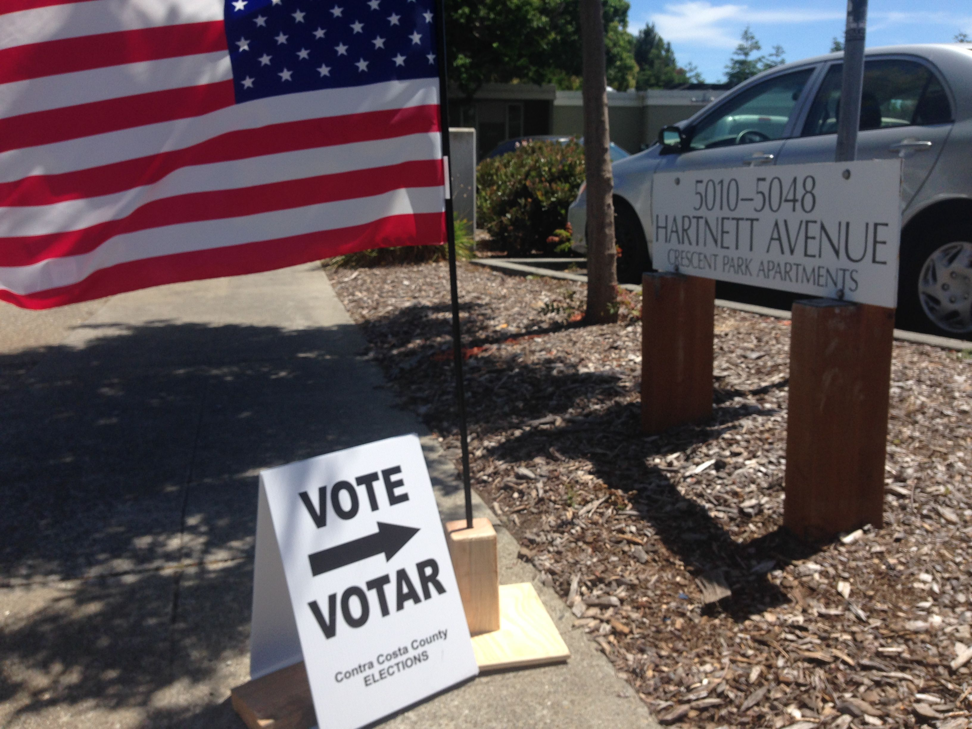 Richmond voters turned out at polling places to vote on two local measures N and O.
