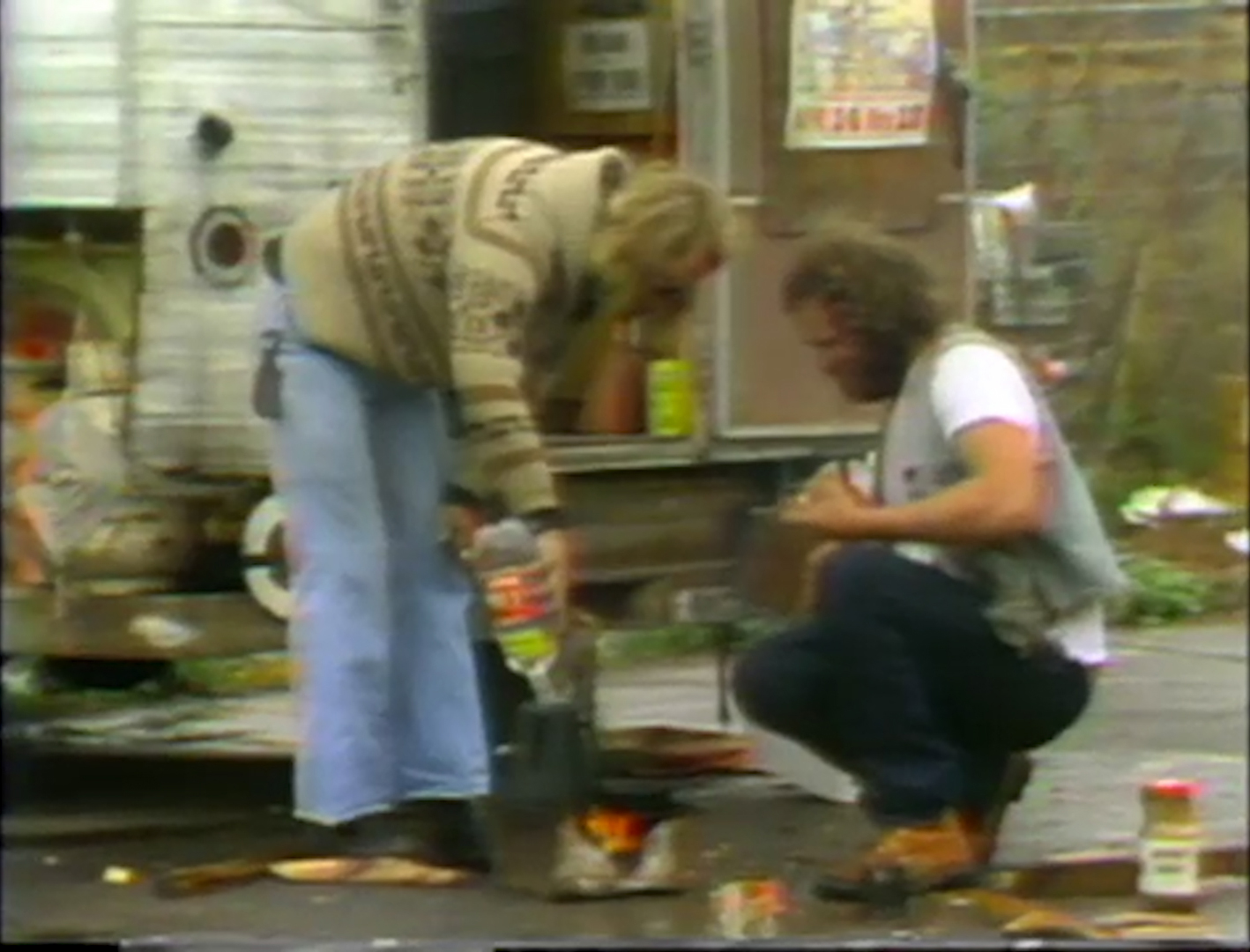 "A still from the 1983 KQED documentary, ""To Have and Have Not."""