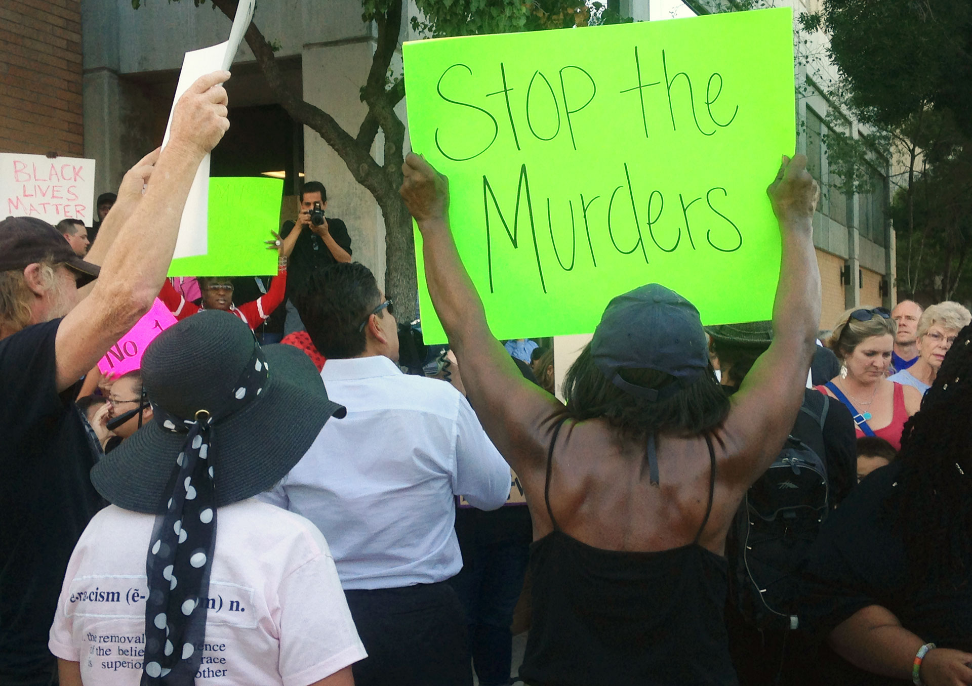 Protesters in Fresno this week called on police to stop using excessive force.