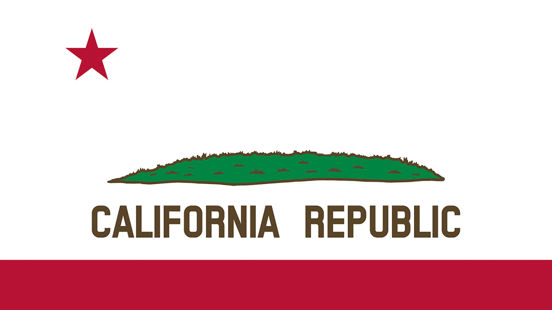 Advocates hope that their bear-less flag will call attention to the paradox that the state symbol is absent from California.