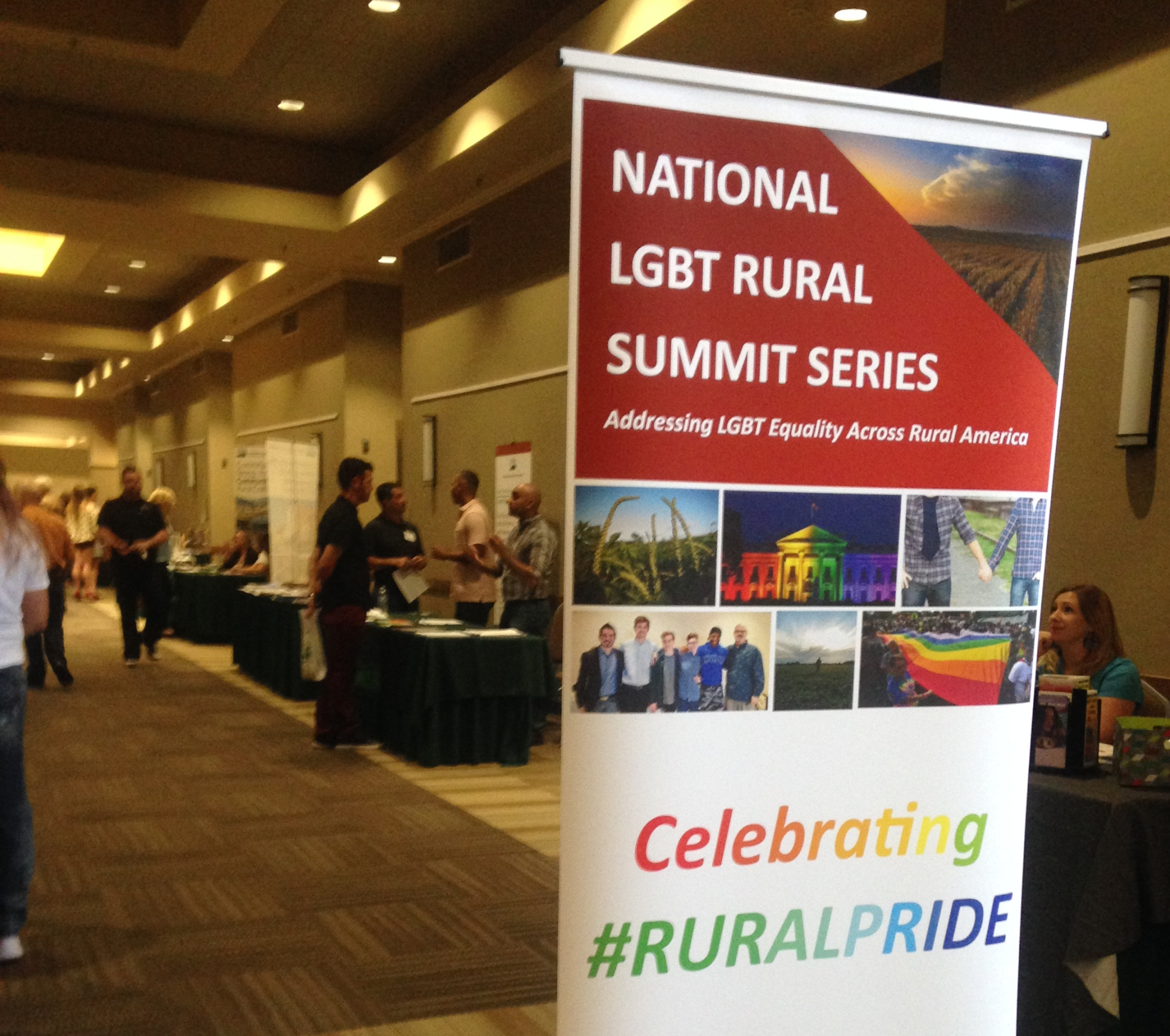 The USDA hosted a resource summit in Visalia for the LGBT community to share resources and information.