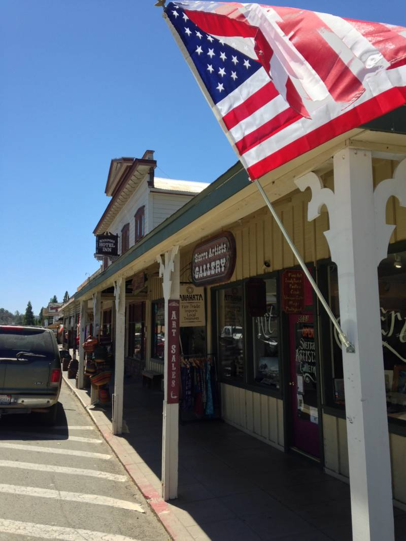 Tourism fuels Mariposa's economy.