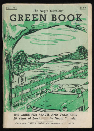 "The 1956 edition of ""The Negro Travelers' Green Book ."""