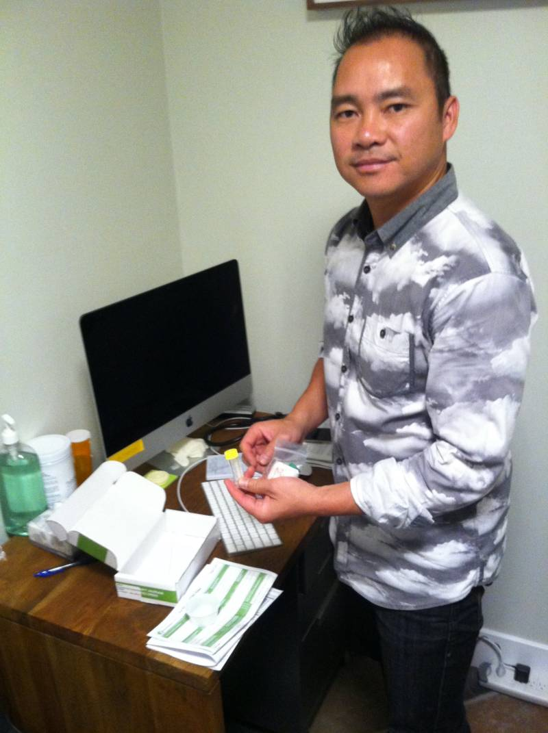 Dr. Vinh Ngo helps patients get prescription drugs to try and increase their productivity.