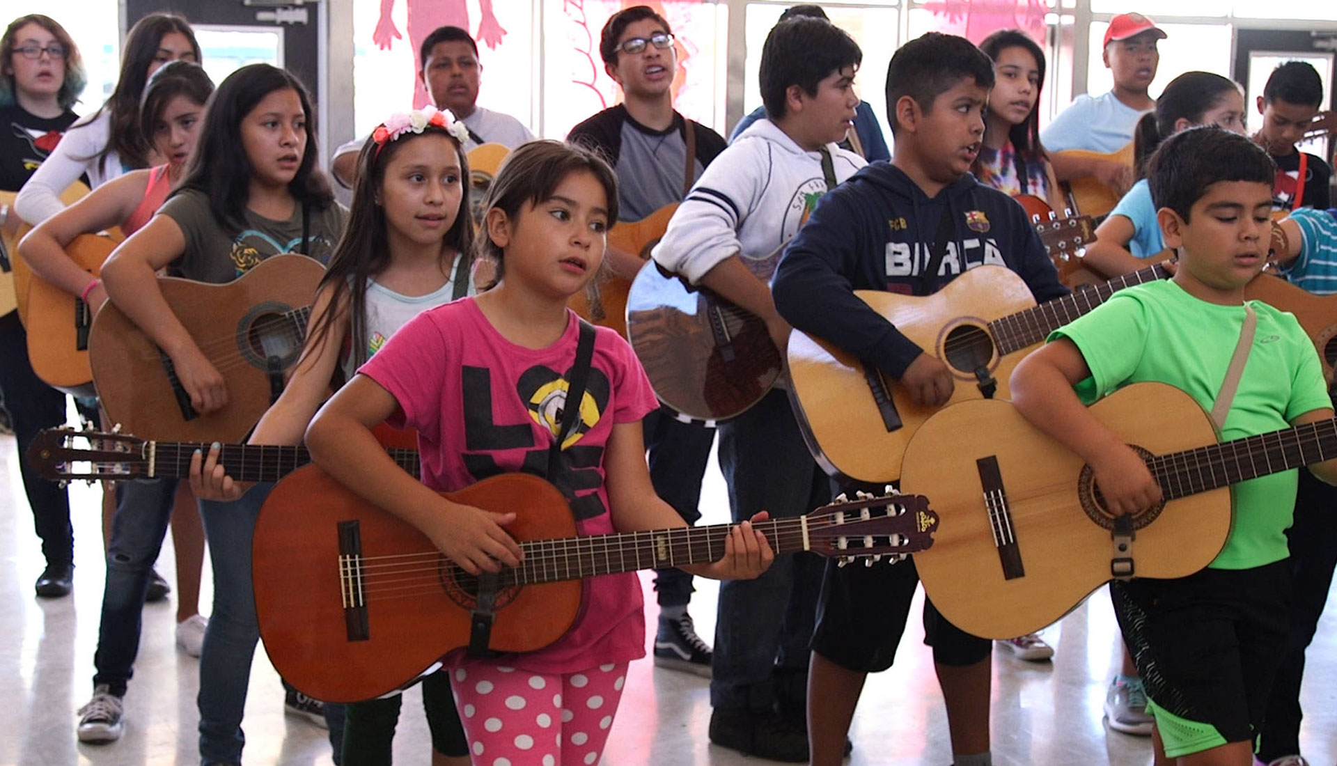 Students participate in California's only mariachi summer camp for beginners.