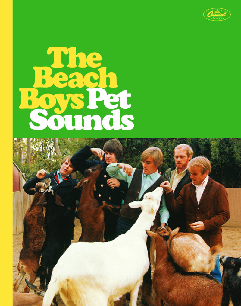 The cover of The Beach Boys' Pet Sounds. The record celebrates it's 50th anniversary this year.