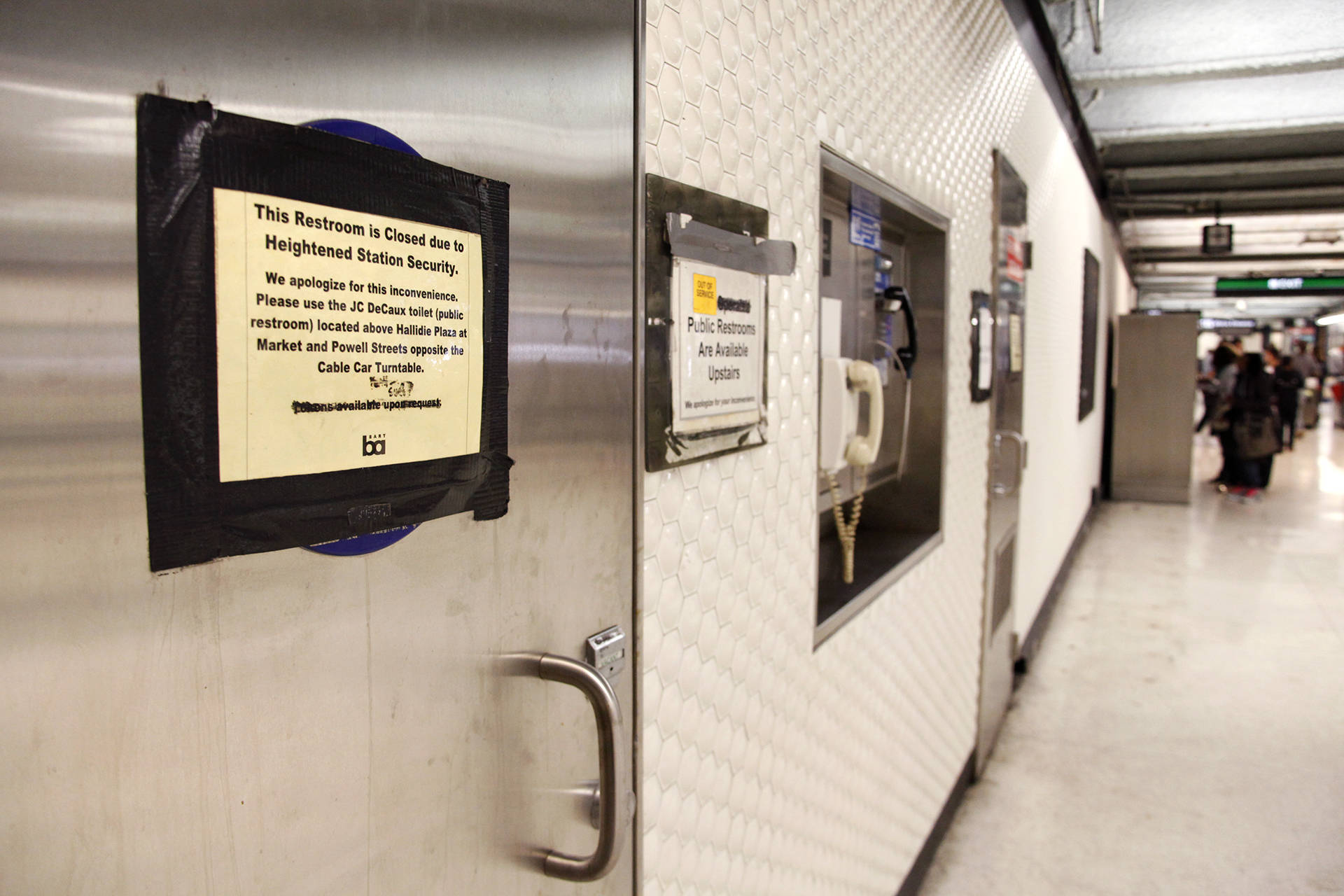 BART Considers Reopening Bathrooms at Underground Stations ...