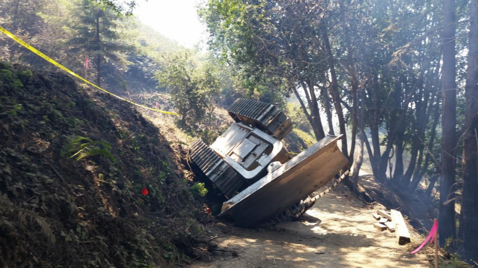 Family of Dozer Driver Who Died in Big Sur Fire Drops Suit Against State