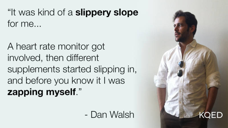 Dan Walsh works in marketing and started taking some nootropics in the morning a few years ago.