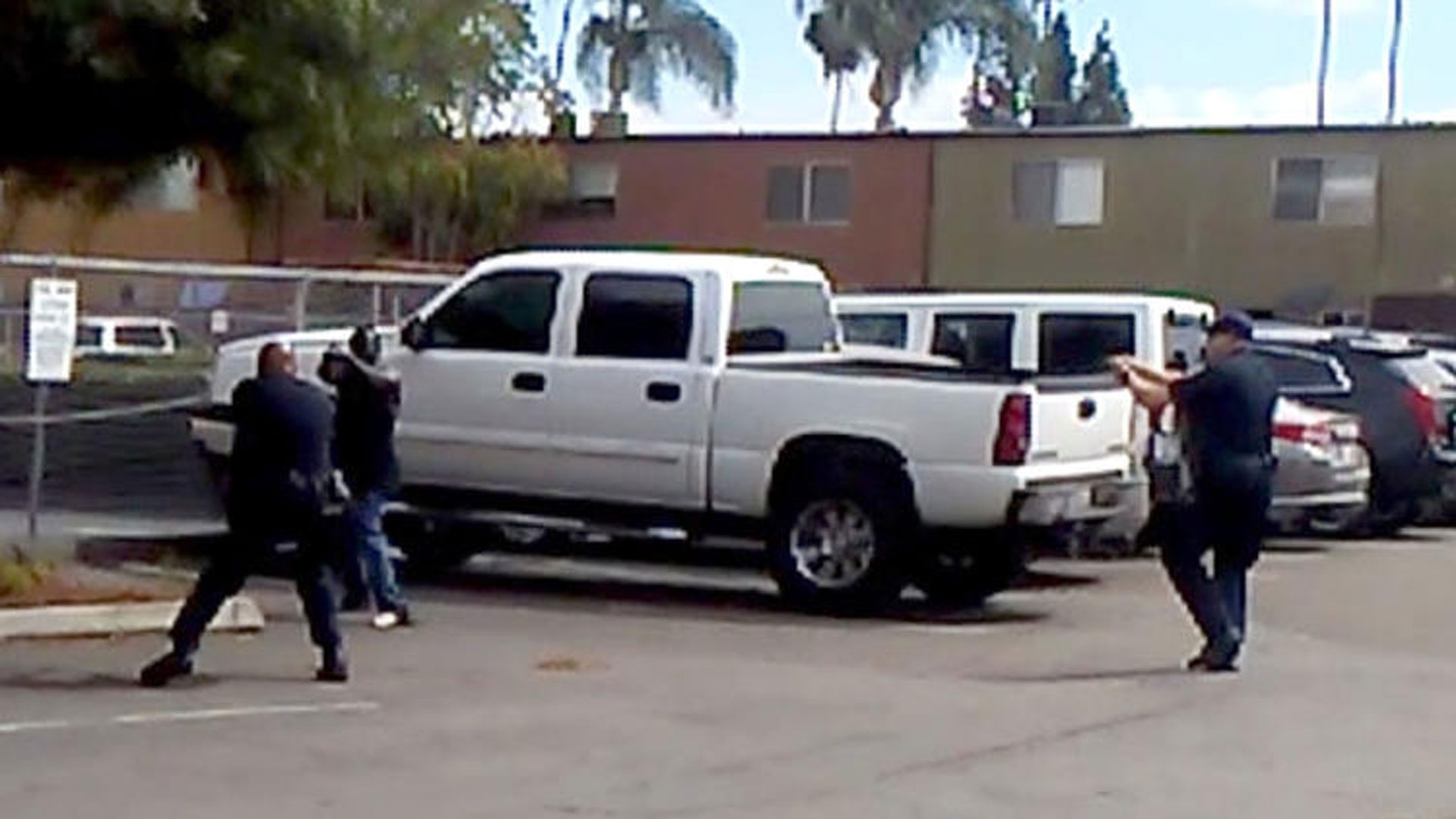 A cellphone video showed a deadly confrontation between El Cajon police officers and a man whose sister says she told officers was mentally ill.