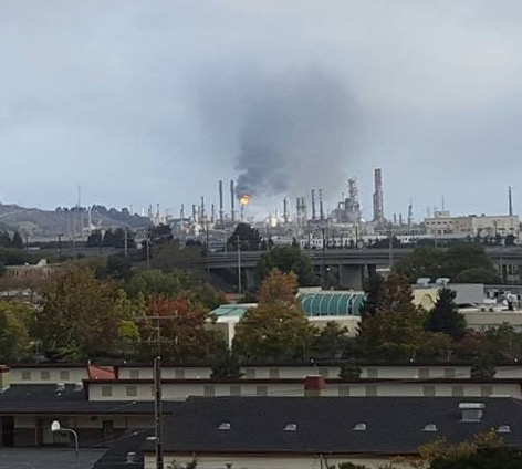 Chevron Flaring Incidents Already Double Last Year's Total — Which Was Highest in a Decade