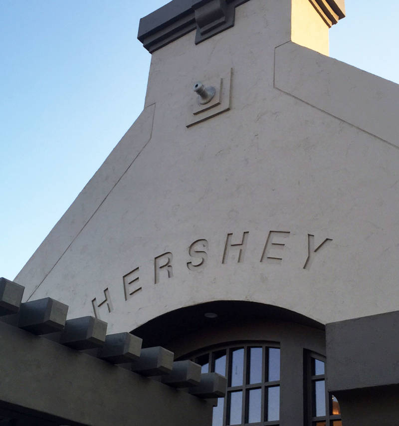The Hershey's chocolate plant in Oakdale, which opened in 1965, closed and moved its operations to Mexico in 2007.
