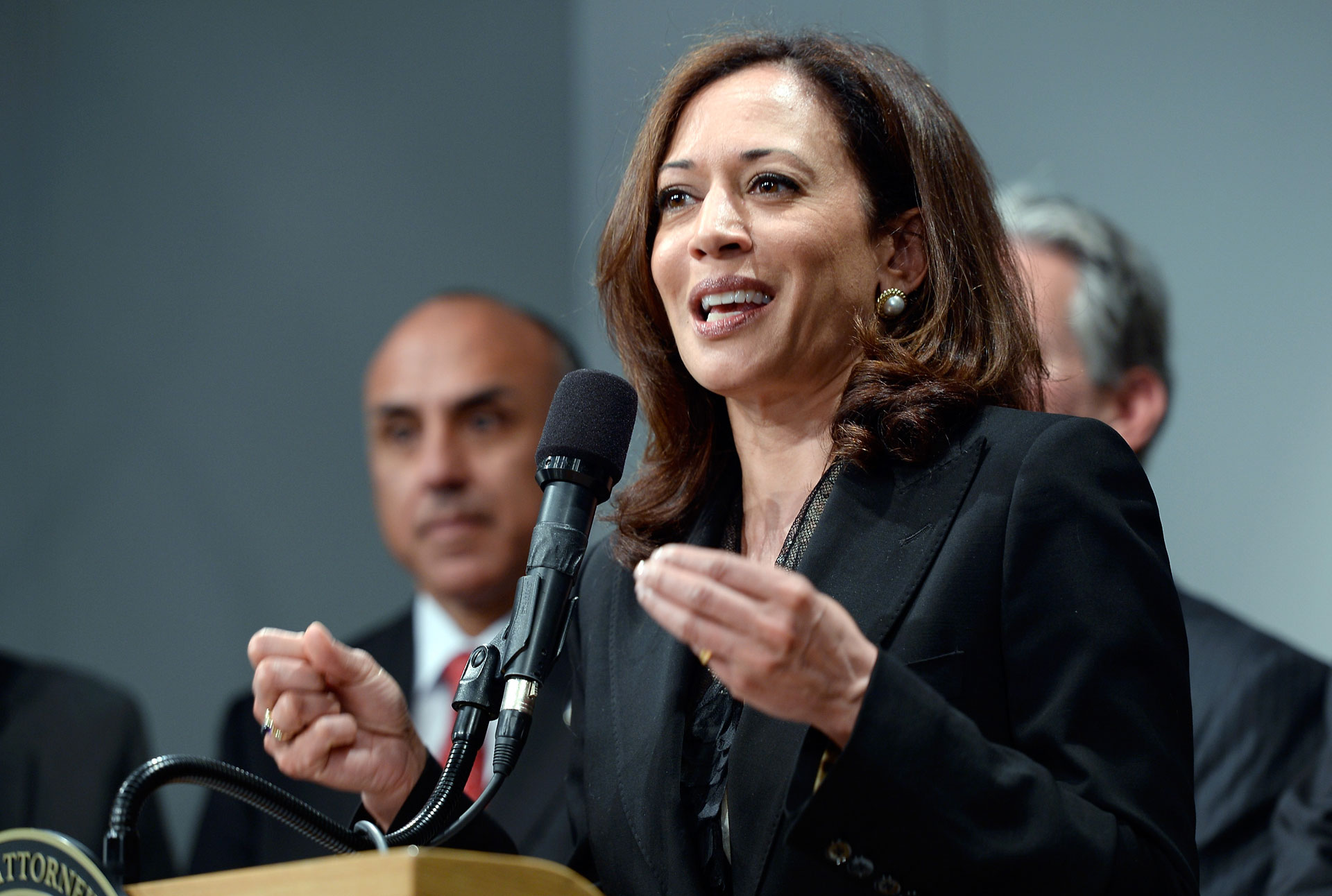 More than half of respondents to a new poll say they would vote for Calif. Attorney General Kamala Harris in the state's U.S. Senate race.