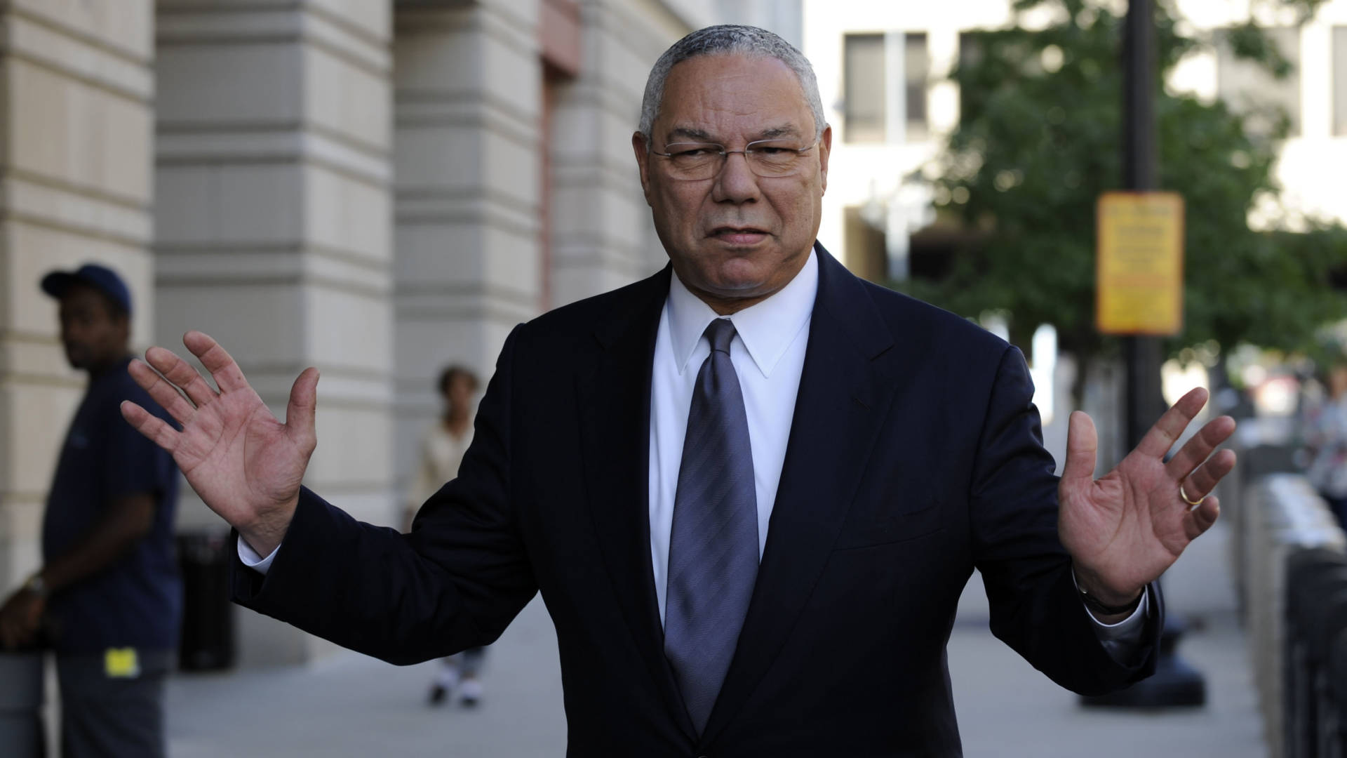 Colin Powell: Trump a 'National Disgrace'; Clinton 'Screws Up' Everything 'With Hubris'