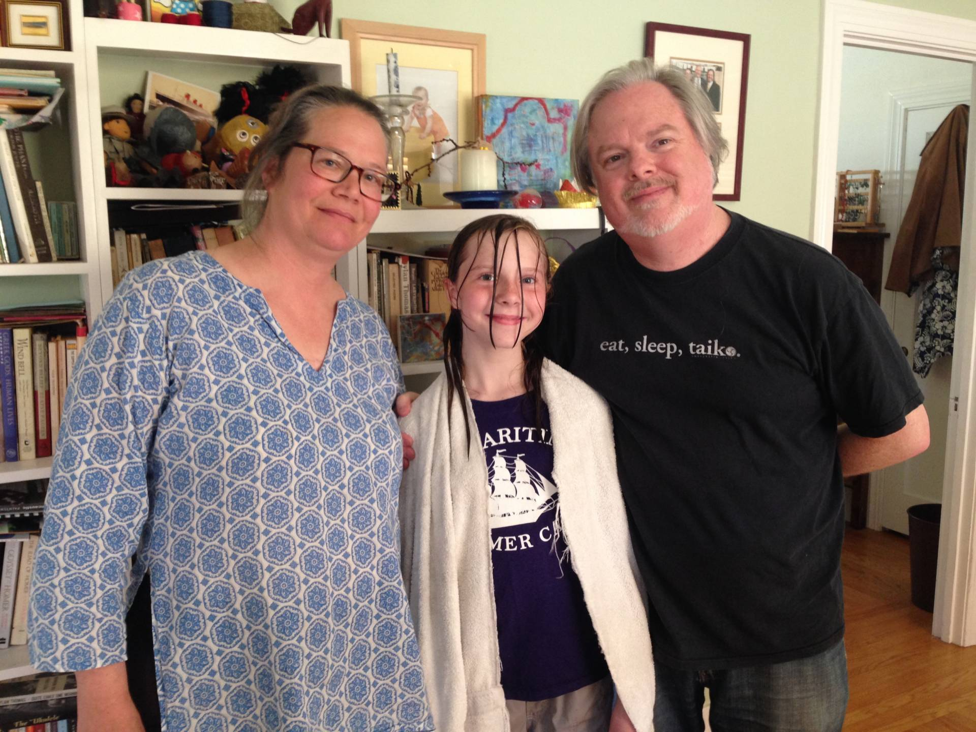 Sara Diamond and John Foster say they applied to schools in both Oakland  and San Francisco for their daughter, Claire, who says she's looking  forward to ...