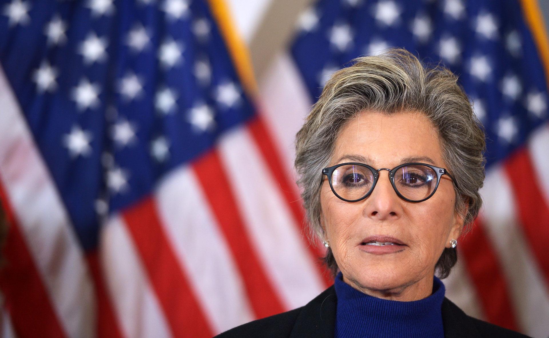 Retiring U.S. Senator Barbara Boxer.
