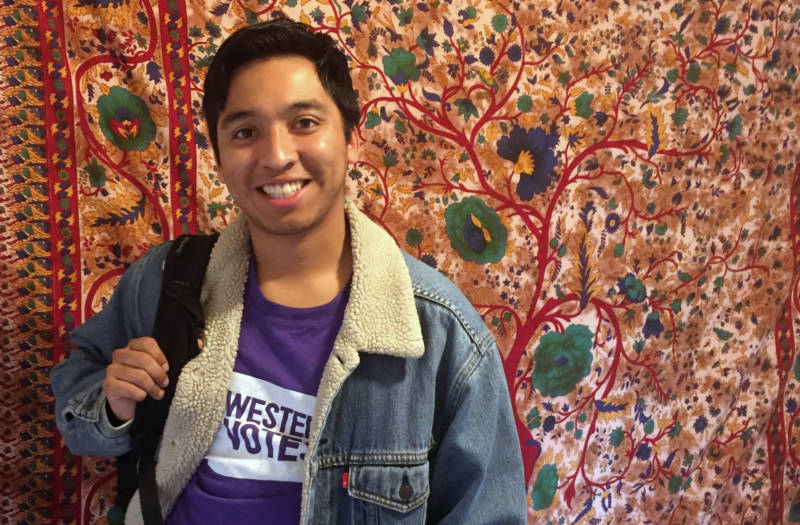 A recent graduate of UC Santa Cruz, Guermillo Rogel qualified for the Blue and Gold Opportunity Plan -- but he's still $45,000 in debt.