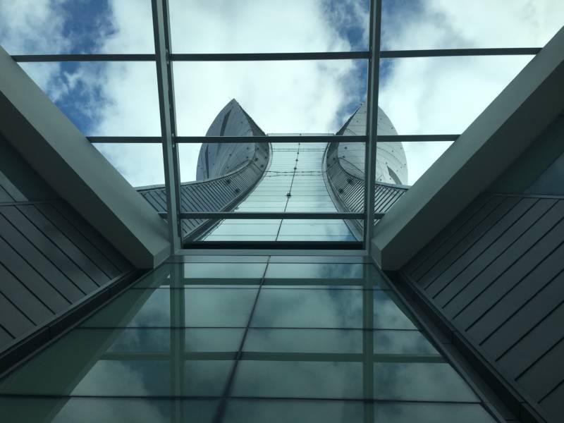 The new tower at San Francisco International Airport.